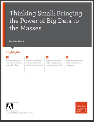 Thinking Small. Bringing the Power of Big Data to the Masses.