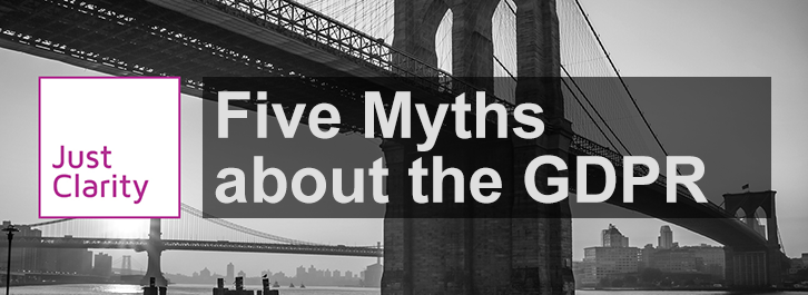 GDPR Myths Hero Banner